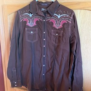 Wrangler rodeo shirt